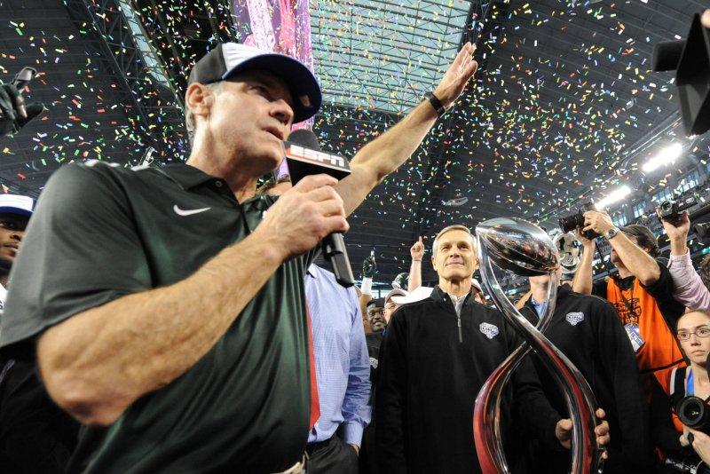 Mark Dantonio steps down as head football coach at Michigan State