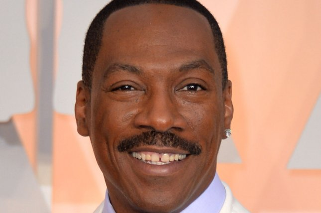 Eddie Murphy arrives on the red carpet at the 87th Academy Awards at the Hollywood & Highland Center in Los Angeles on Feb. 22, 2015. Photo by Kevin Dietsch/UPI