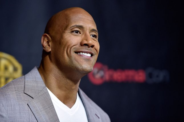 Actor Dwayne Johnson tapped to star in Disney's Jungle Cruise. File Photo by David Becker/UPI