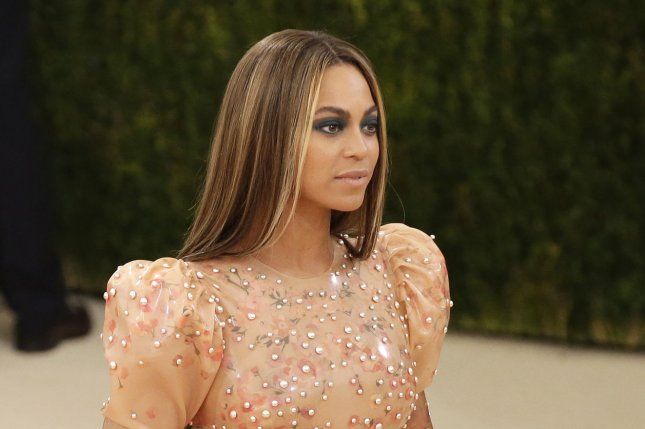 Beyonce arrives on the red carpet at the Costume Institute Benefit at The Metropolitan Museum of Art celebrating the opening of Manus x Machina: Fashion in an Age of Technology in New York City on May 2, 2016. File Photo by John Angelillo/UPI