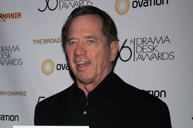 Tom Wopat arrives for the Reception for the Drama Desk Award Nominees on May 2, 2011. Wopat has been arrested in Massachusetts on multiple charges. File Photo by Laura Cavanaugh/UPI