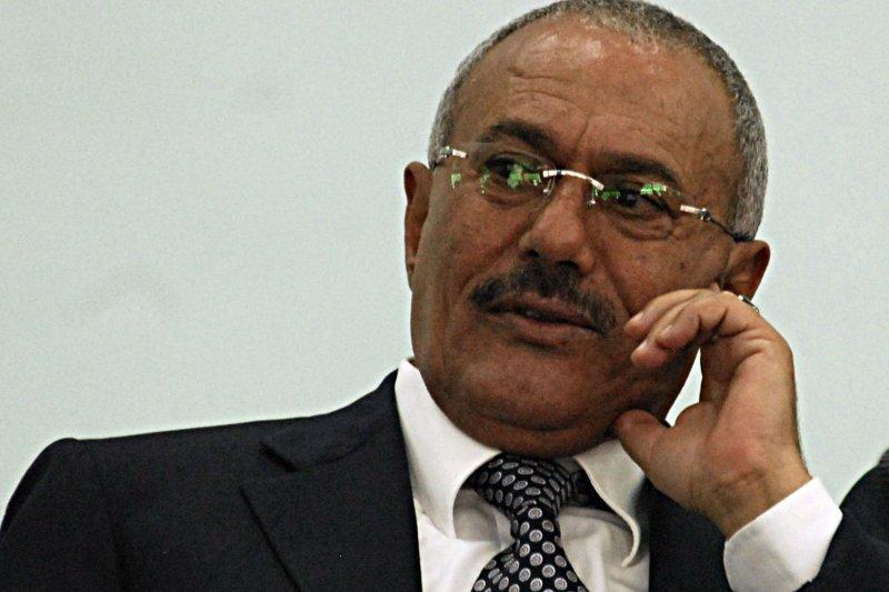 Former Yemeni President Ali Abdullah Saleh was killed Monday when Houthi rebels stormed his home in Sanaa, Yemen. File Photo by Fouad Harazi/UPI