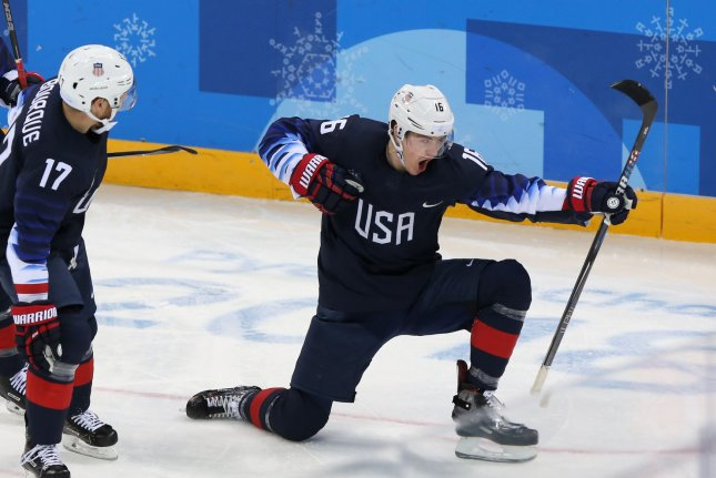 Team USA Hockey Wins
