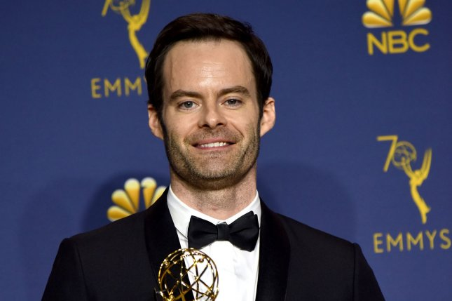 Comedian Bill Hader retruned to SNL this weekend to play Rep. Jim Jordan in a parody of last week's Michael Cohen congressional oversight hearing. File Photo by Christine Chew/UPI