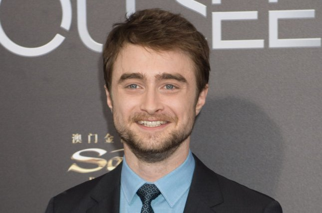 Harry Potter star Daniel Radcliffe arrives at the Now You See Me 2 premiere in June 2016. The Harry Potter films will be heading to Peacock in October. File Photo by Bryan R. Smith/UPI
