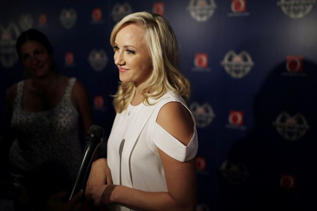 Nastia Liukin in New York City on Aug. 13, 2014. Photo by John Angelillo/UPI