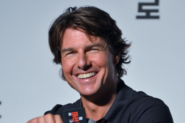 Tom Cruise at a 'Mission: Impossible - Rogue Nation' press conference in Seoul on July 30, 2015. File Photo by Keizo Mori/UPI