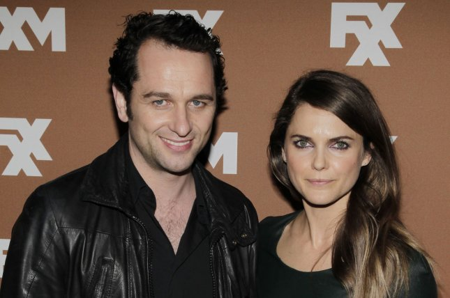 Keri Russell R And Matthew Rhys At The Fx Upfront On March 28 2013 The Couple Welcomed A Son In May File Photo By John Angelillo Upi License Photo