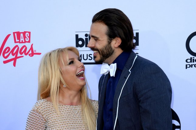 Britney Spears and Charlie Ebersol, her boyfriend of eight months, have reportedly called it quits. Photo by Jim Ruymen/UPI