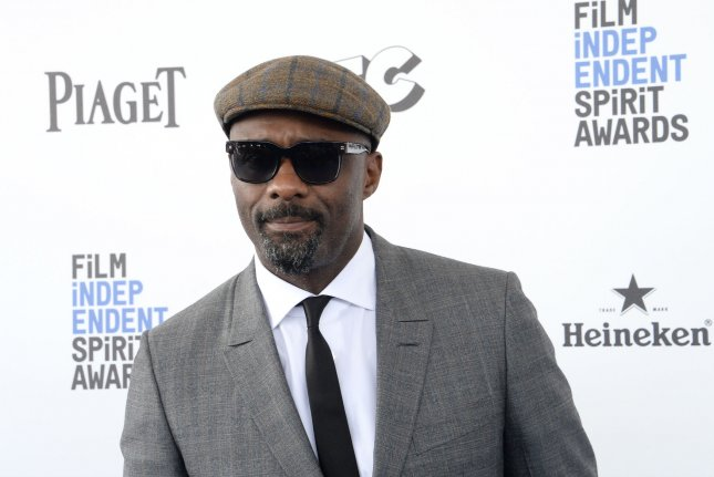 Actor Idris Elba attends the 31st annual Film Independent Spirit Awards in Santa Monica on February 27, 2016. Photo by Jim Ruymen/UPI