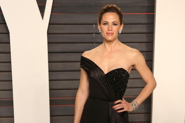 Jennifer Garner attends the 2016 Vanity Fair Oscar Party at the Wallis Annenberg Center for the Performing Arts in Beverly Hills on February 28, 2016. Photo by David Silpa/UPI