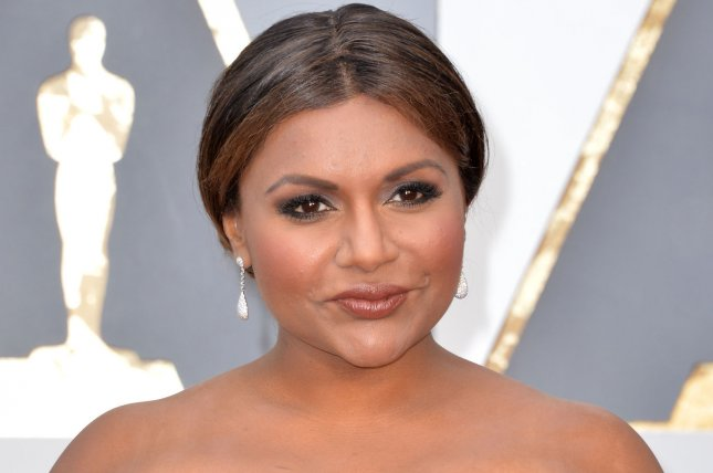 Mindy Kaling at the Academy Awards on February 28. The actress plays Mindy Lahiri on The Mindy Project. File Photo by Kevin Dietsch/UPI