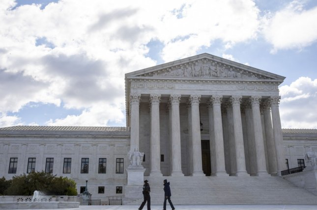 The Supreme Court declined Monday to hear a case seeking to reexamine qualified immunity legal doctrine for government and law enforcement officials. Photo by Tasos Katopodis/UPI