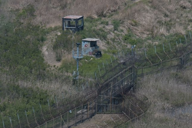 South Korea's military says a North Korean man has voluntarily crossed the DMZ and is under investigation. File Photo by Keizo Mori/UPI