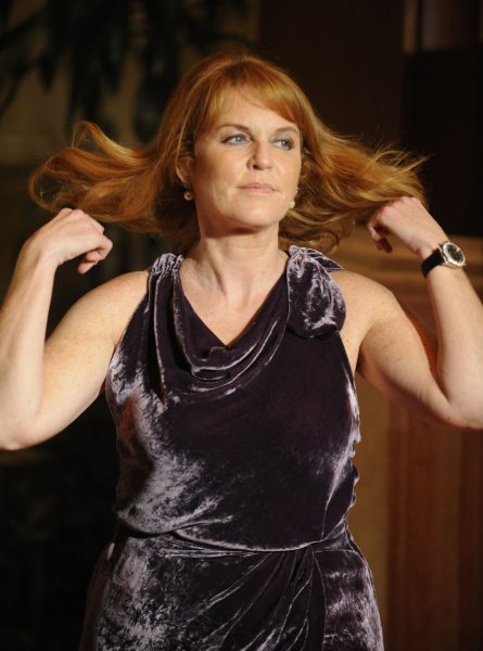 Sarah Ferguson, Duchess of York attends the premiere of the film The Young Victoria in Los Angeles on December 3, 2009. UPI/ Phil McCarten