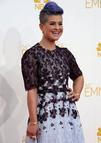 Kelly Osbourne arrives at the Primetime Emmy Awards at the Nokia Theatre in Los Angeles on August 25, 2014. UPI/Jim Ruymen