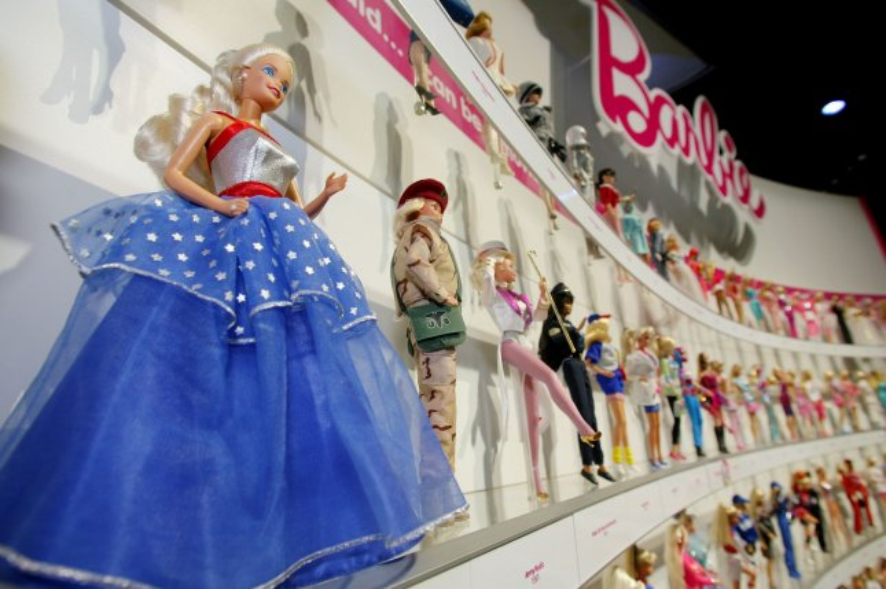 A display of Barbie dolls. File photo by Monika Graff/UPI