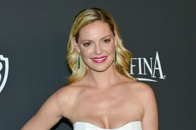 Katherine Heigl at the InStyle and Warner Bros. Golden Globes after-party on January 11. File photo by Christine Chew/UPI