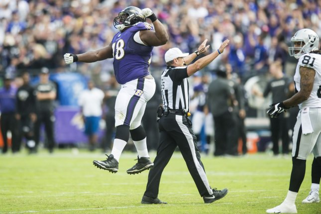 Deep Defensive Line A Good Problem For Baltimore Ravens Upi Com