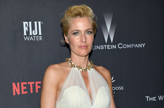Gillian Anderson will star in a new Netflix series titled Sex Education. File Photo by Christine Chew/UPI