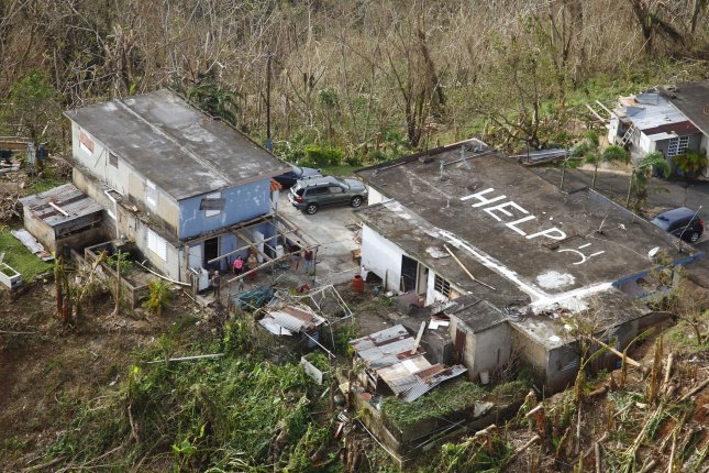 The House passed a $19.1 billion disaster relief bill, including 1.4 billion in funding for Puerto Rico, after Republican opposition. FIle Photo by Kris Grogan/U.S. Customs and Border Protection/UPI