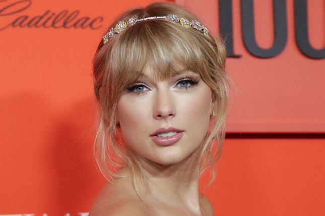 Taylor Swift is collaborating with designer Stella McCartney on a Lover line of clothing. File Photo by John Angelillo/UPI