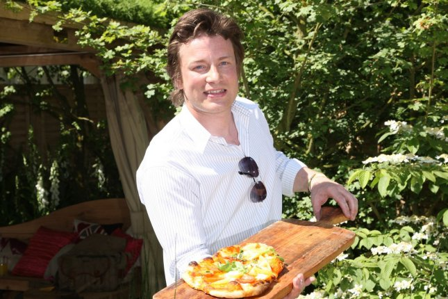 Celebrity chef Jamie Oliver's show Keep Cooking and Carry On is coming to Hulu in the U.S. File Photo by Hugo Philpott/UPI