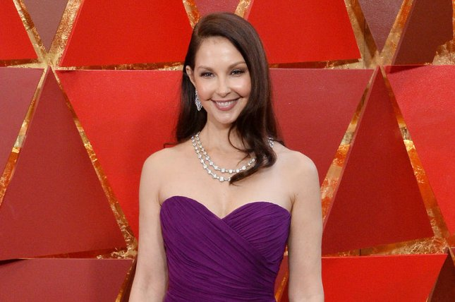Ashley Judd has started hiking again after the actress suffered a serious leg injury in February. File Photo by Jim Ruymen/UPI