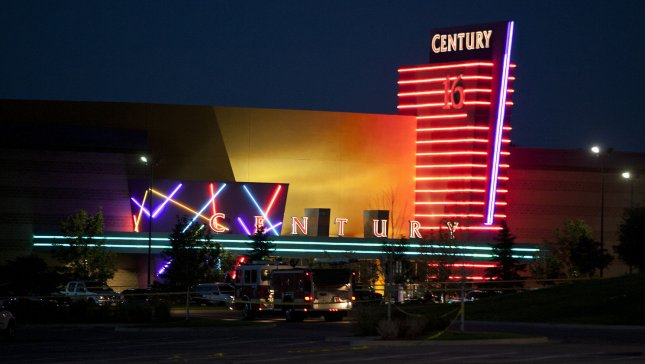 Fourteen movie goers are shot and killed with up to fifty more people injured at the Century 16 movie theaters at the Aurora Mall in Aurora, Colorado on July 20, 2012. The victims were attending a midnight premiere of the new Batman movie. UPI/Gary C. Caskey