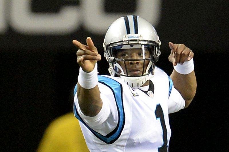 Carolina Panthers quarterback Cam Newton. File photo David Tulis/UPI