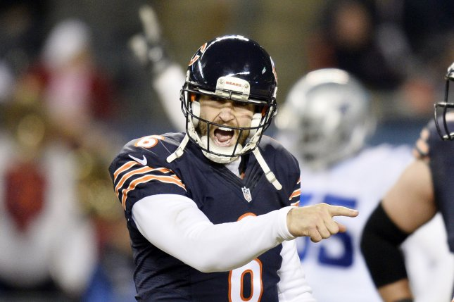 Chicago Bears quarterback Jay Cutler. File photo by Brian Kersey/UPI