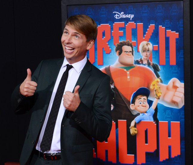 Actor Jack McBrayer, the voice of Fix-It Felix in the motion picture animated comedy Wreck-It Ralph, attends the premiere of the film in Los Angeles on October 29, 2012. McBrayer will reprise his role in the sequel, due in theaters in 2018. File Photo by Jim Ruymen/UPI