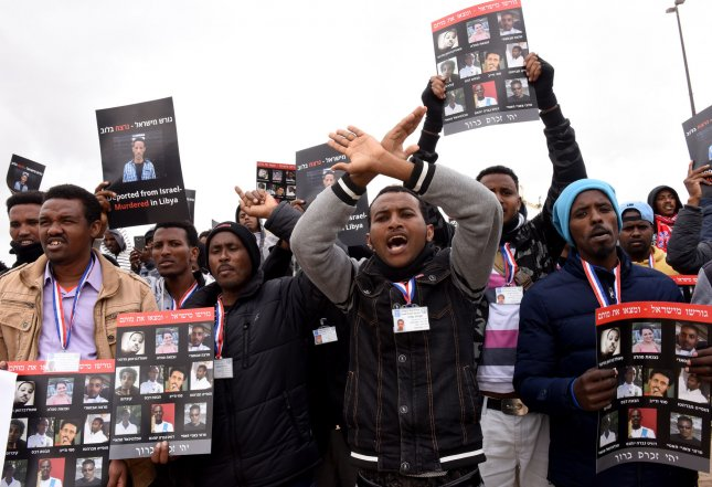 Israel plans to notify thousands of migrants, many of whom entered the country seeking asylum from Eritrea, they must leave the country within 90 days or face an indefinite amount of jail time. File Photo by Debbie Hill/UPI
