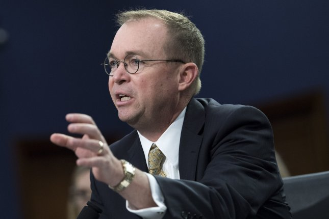 Acting White House Chief of Staff Mick Mulvaney said Sunday that Democrats will never see President Donald Trump's tax returns, after House Ways and Means Chairman Richard Neal, D-Mass., made a request to the IRS. Photo by Kevin Dietsch/UPI