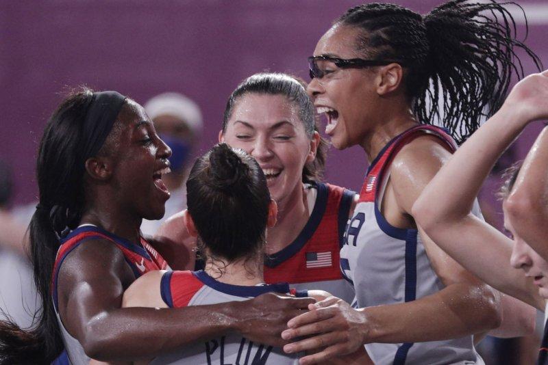 Olympics: U.S. 3x3 basketball wins gold, men's gymnasts miss podium