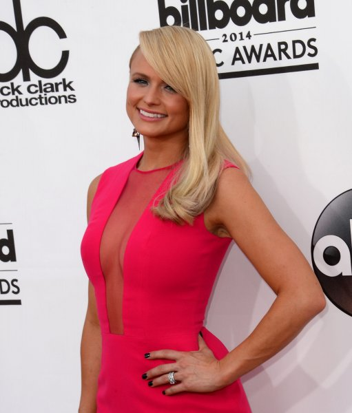 Singer Miranda Lambert attends the 2014 Billboard Music Awards held at the MGM Grand Garden Arena in Las Vegas, Nevada on May 18, 2014. UPI/Jim Ruymen
