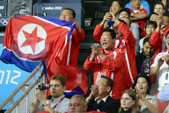 North Korea is sending a team of speed skaters to the 2017 Asian Winter Games, according to a Japanese press report. UPI/Ron Sachs