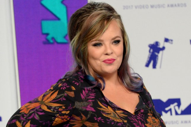 Catelynn Lowell was feeling positive Wednesday following her return from rehab. File Photo by Jim Ruymen/UPI