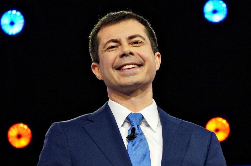 Pete Buttigieg guest hosted Jimmy Kimmel Live on Thursday night. File Photo by Richard Ellis/UPI