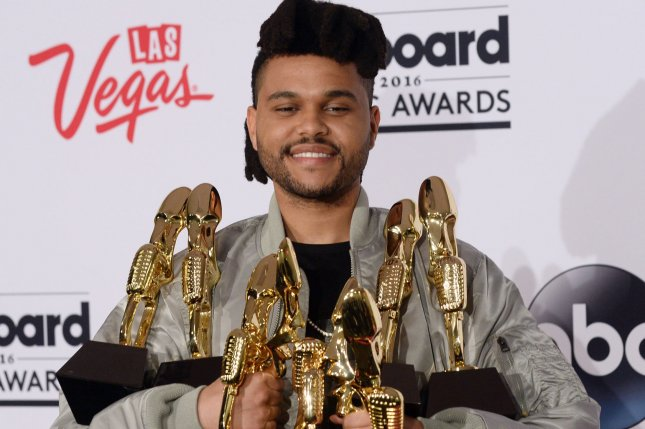 The Weeknd's After Hours is No. 1 on the Billboard 200 album chart this week. File Photo by Jim Ruymen/UPI