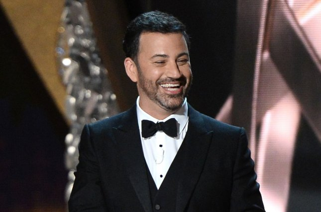 The Jimmy Kimmel Live! Twitter feed Sunday featured a comedic video welcoming people back to cinemas.File Photo by Jim Ruymen/UPI