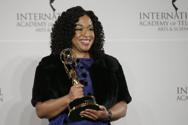 Grey's Anatomy and Scandal creator Shonda Rhimes is to be inducted in the Television Academy Hall of Fame next month. File Photo by John Angelillo/UPI