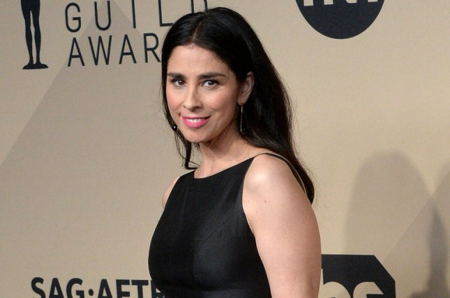 Sarah Silverman attends the Screen Actors Guild Awards on January 21. File Photo by Jim Ruymen/UPI
