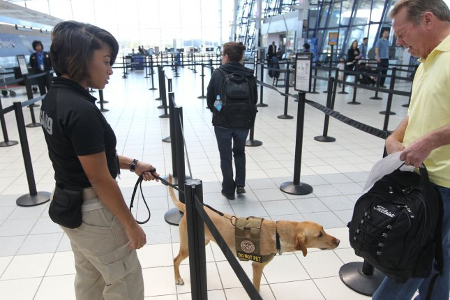 A group of House Democrats wrote a letter protesting the use of facial recognition cameras on U.S. citizens in airports. Photo by Bill Greenblatt/UPI