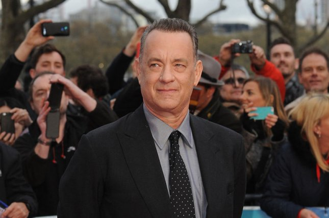 Sully actor Tom Hanks attends the premiere of A Hologram for the King at BFI Southbank on April 25, 2016. File Photo by Paul Treadway/UPI