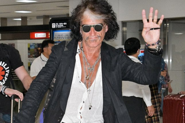Joe Perry reportedly was taken to a hospital after a show in New York on Saturday night. File Photo by Keizo Mori/UPI