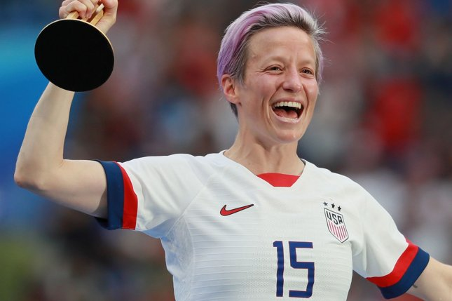 Soccer star Megan Rapinoe will be seen in Sunday's edition of The L Word: Generation Q. File Photo by David Silpa/UPI
