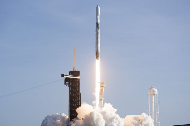 The U.S. Space Force will begin flying missions on reused Falcon 9 rockets, like this one that was launched Sept. 3, starting next year. Photo by Joe Marino/UPI