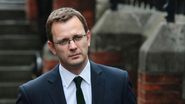 Ex-Editor of the News of the World newspaper Andy Coulson leaves 'The Leveson Inquiry' after answering questions on phone hacking and his involvement on Thursday London, May 10, 2012. Mr Coulson also held the job as Press Officer for British Prime Minister David Cameron prior to the newspaper scandal breaking last summer. UPI/Hugo Philpott