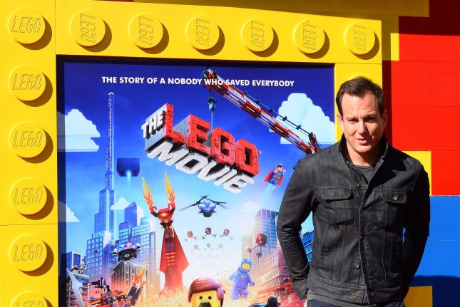 Cast member Will Arnett, the voice of Batman in the motion picture animated comedy The Lego Movie, attends the premiere of the film in Los Angeles on Feb. 1, 2014. Photo by Jim Ruymen/UPI